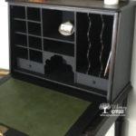 Antique American Breakfront Desk Makeover