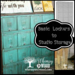 Painted Metal Lockers for Studio Storage