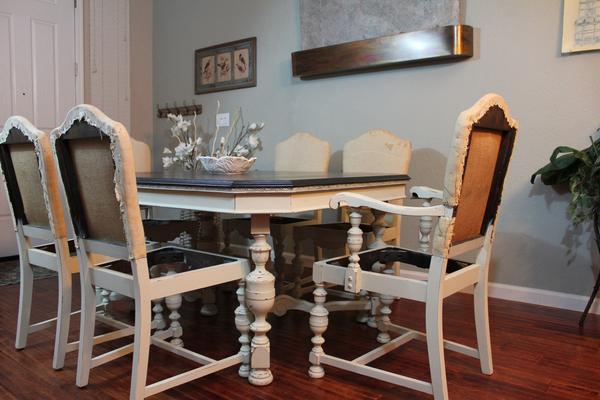 Save. Antique Jacobean Dining Set