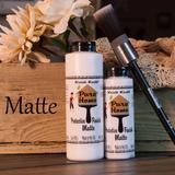 pure home paints matte top coat