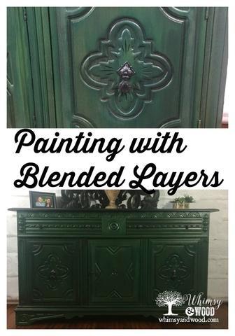 Blended Green Buffet Pinterest Pin