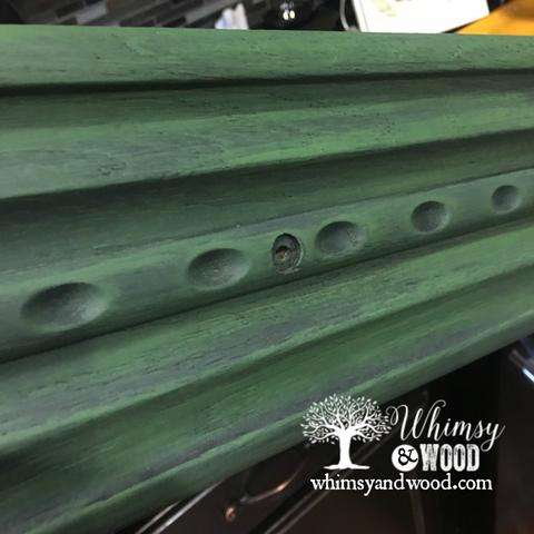 Blend Paint Colors-blended green buffet, forrest over derby