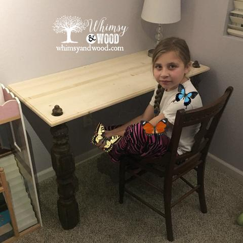 Built-in desk for a small space 4