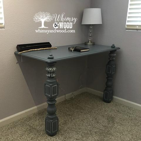Built-In Desk for small space 7
