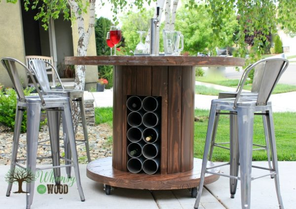 wire spool patio table 2