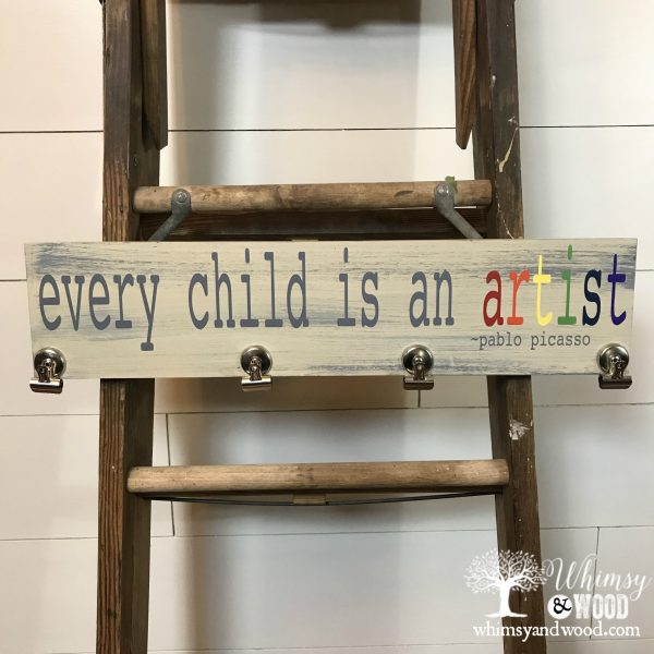 every child is an artist 24 inch