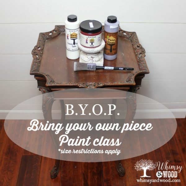 byop paint workshop