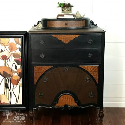 Just a Beautiful Dresser Makeover