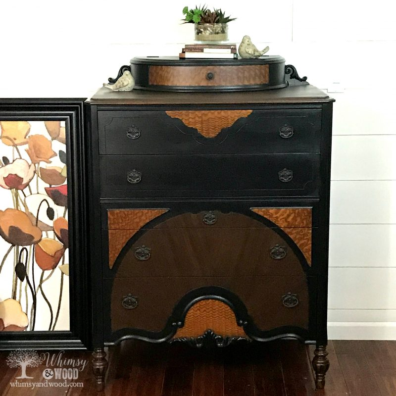 Painted Dresser-Antique