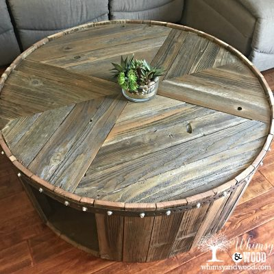 How to Make This DIY Reclaimed Wood Coffee Table