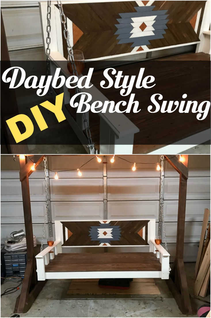 Daybed Porch Swing Bench
