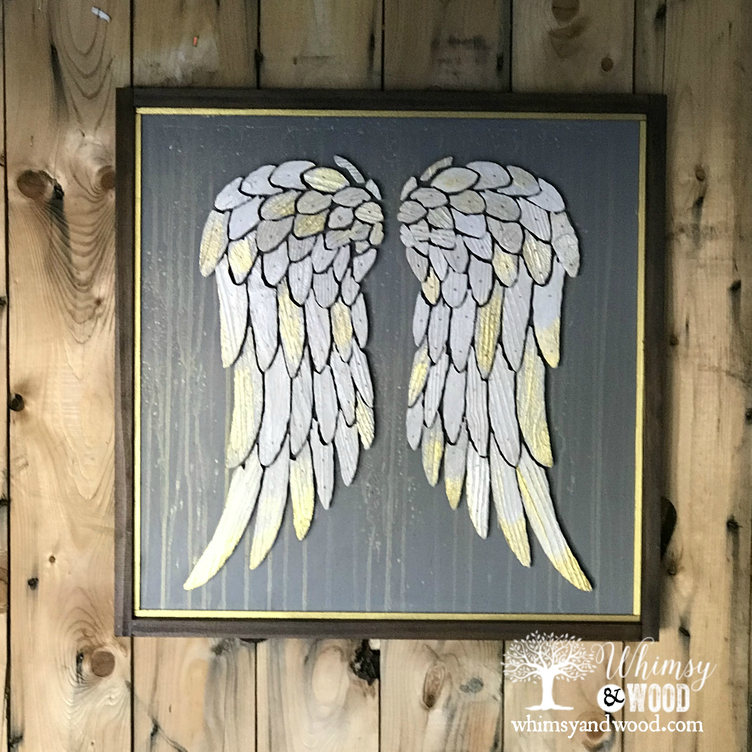 Purity Love Angel Wings Wings Of Grace Art Whimsy And Wood