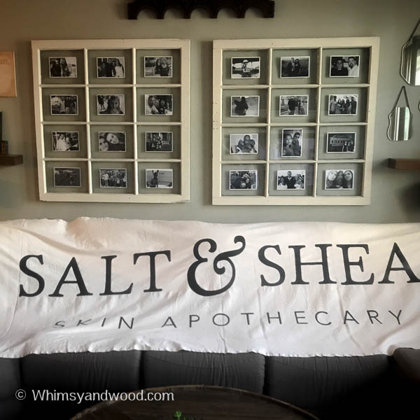 image salt and shea apothecary banner on a couch