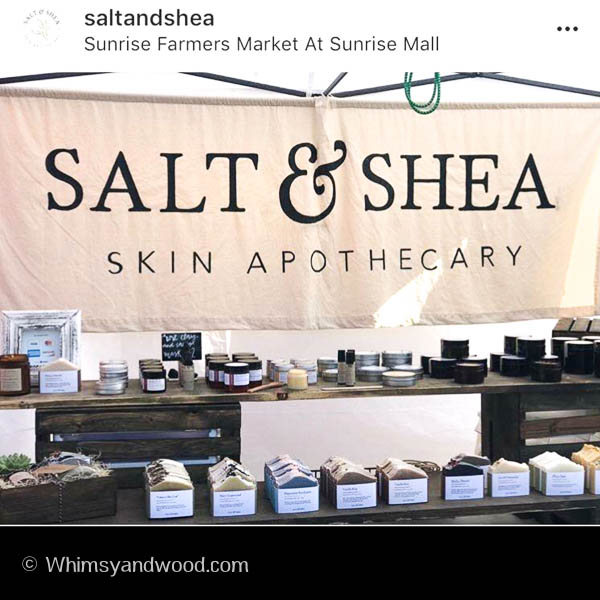 Image of Salt and Shea Apothecary logo banner