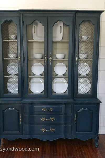 Shop Vintage Thomasville Painted Hutch 19702
