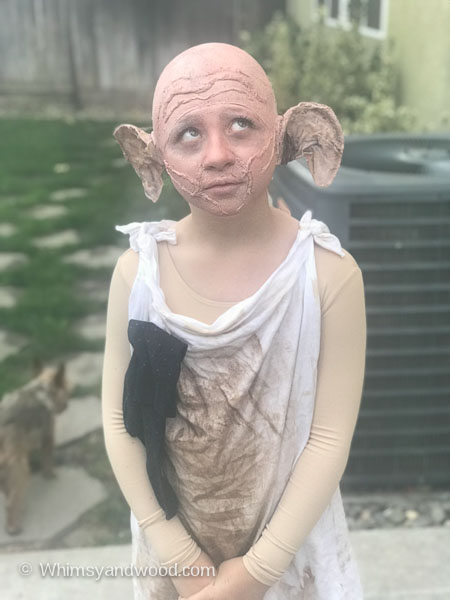 how to make a dobby costume diy