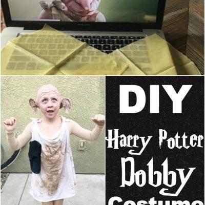 Dobby Costume-Harry Potter DIY-Halloween Costume