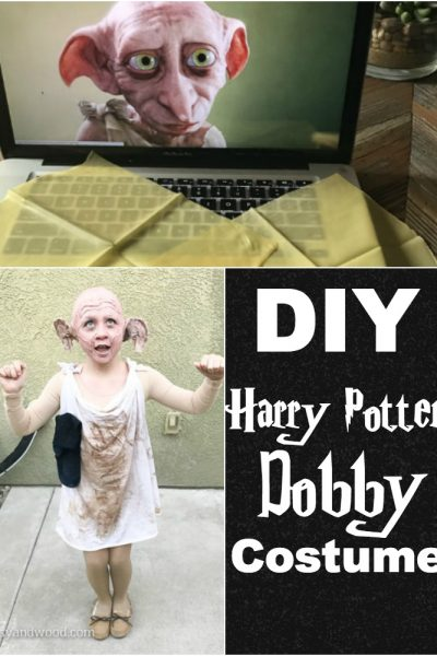 dobby costume pin diy