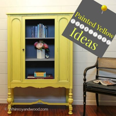 Yellow Painted Furniture Pieces You Will Love