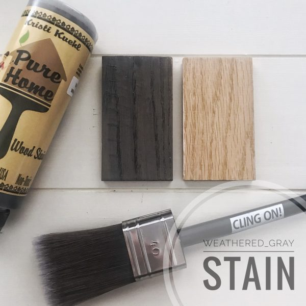 Weathered Gray Stain